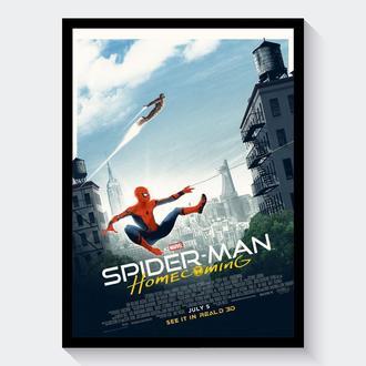 Постер Человек-паук: Возвращение домой / Spider-Man: Homecoming