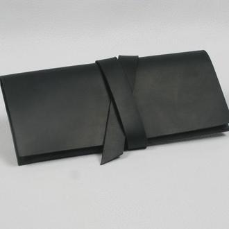 Крутой кошелёк-лонгер из натуральной кожи
