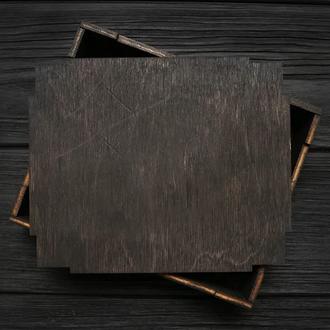 Деревянная подарочная коробка (16х11х3,5 см) под кошелек и др. 1090669830