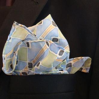 Шелковый нагрудный платок