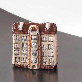 Миниатюра многоэтажка дом сувенир