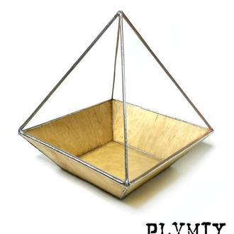 """Флорариум №2/1-S """"Усечённая египетская пирамида"""""""