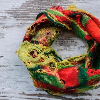 Шийна хустка шарф ′Весняний букет′
