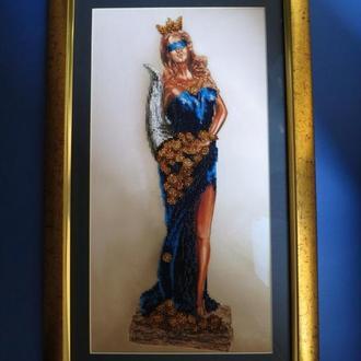 Картина оберег Богиня удачи Фортуна