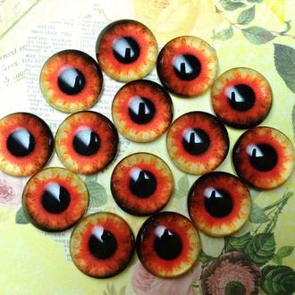 Глаза кабошоны 16 мм №84