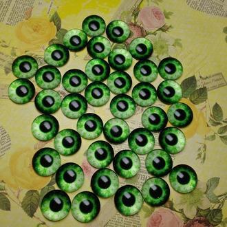 Глаза кабошоны 16 мм №77