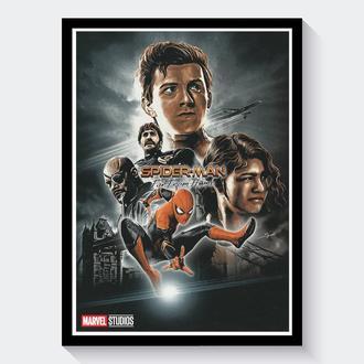 Постер Человек-Паук: Вдали от дома / Spider-Man: Far From Home