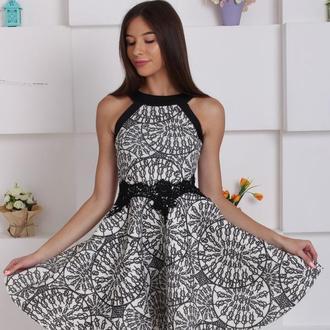 Элегантное платье с пышной юбкой