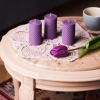 Декоративные стильные свечи из натурального воска свечи для романтического ужина
