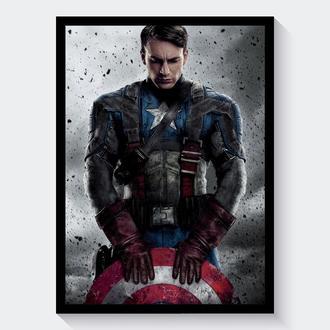 Постер Капитан Америка: Первый Мститель / Captain America: The First Avenger