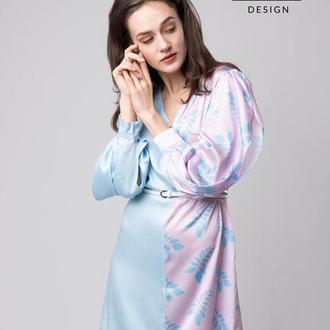 Двухцветное платье ANNA TIM
