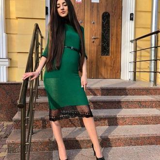 """Вязанное платье """"Леди"""""""