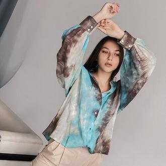 Рубашка из мягкого штапеля очень приятная к телу