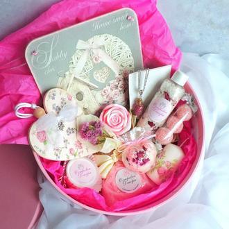 """Подарочный набор """"Розовая нежность"""", подарок девушке, жене, подруге, маме, сестре"""