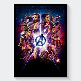 Постер Мстители: Война Бесконечности / Avengers: Infinity War