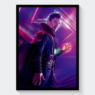 Постер Мстители: Война Бесконечности / Avengers: Infinity War (Доктор Стрэндж / Doctor Strange)