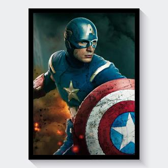 Постер Мстители / Avengers (Капитан Америка / Captain America)