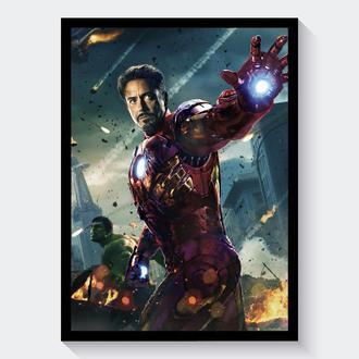 Постер Мстители / Avengers (Железный Человек / Iron Man)