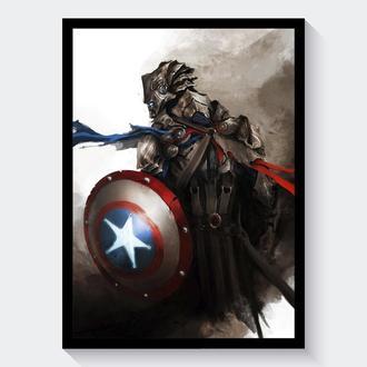 Постер Мстители / Avengers (Капитан Америка)