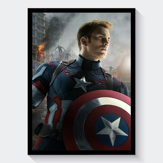 Постер Мстители: Эра Альтрона Капитан Америка  / Avengers: Age of Ultron Captain America