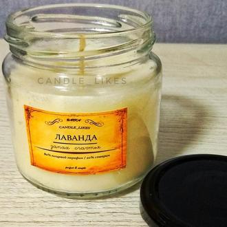 Весенняя свеча в баночке