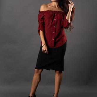 Свободная стильная блуза