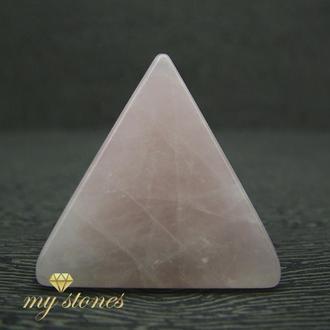 Пирамида из натурального розового кварца