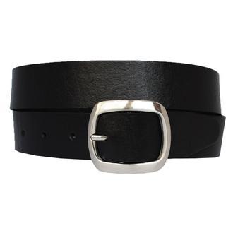 Lagoda3 кожаный женский ремень черный пояс для джинсов пасок ремінь