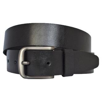 Dara кожаный женский ремень черный пояс для джинсов пасок ремінь