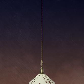 Светильник керамический подвес