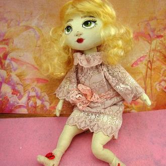 Текстильная кукла Малышка