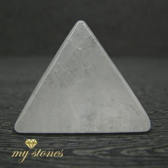 Пирамида из натурального горного хрусталя