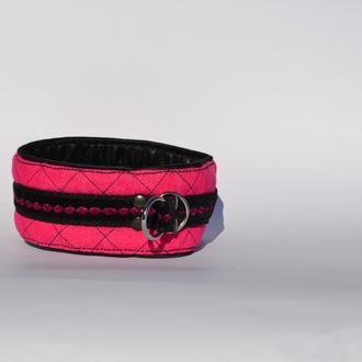 Crimson Poodle's Collar. Mod. Mary Ошенийк для Пуделя
