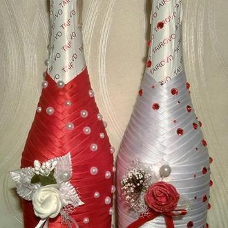Декоративное оформление бутылок