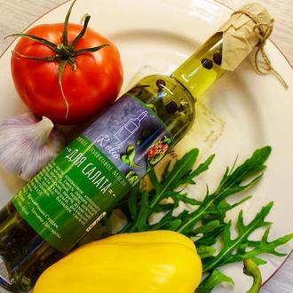 """Пряное оливковое масло """"Для салата"""""""