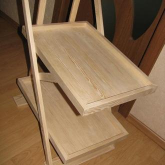 Тележка деревянная садовая / для дачи / частного дома