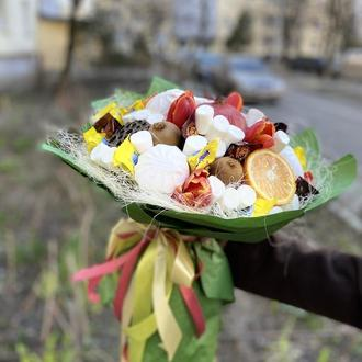 Сладкий букет Микс с цветами