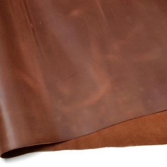 Натуральная кожа Crazy Horse ( Крейзи Хорс ) коньяк