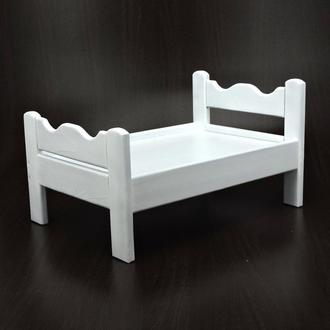 """Кровать игрушечная """"Ариэль"""" зефир"""