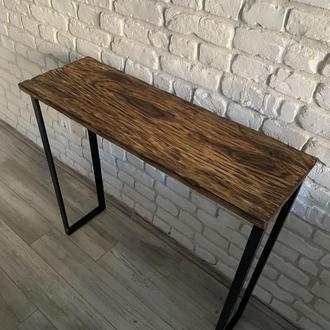 """Деревянный стол в стиле """"Лофт"""""""