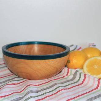 Мисочка из дерева для сухофруктов, орешков