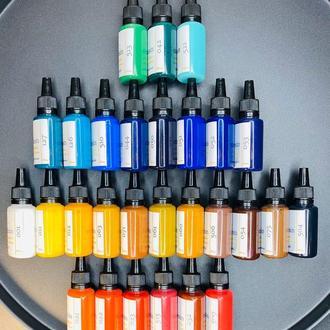 Жидкие красители для эпоксидной смолы, концентрированные колеры 30 мл