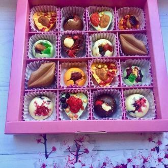 Шоколадные конфеты из бельгийского шоколада