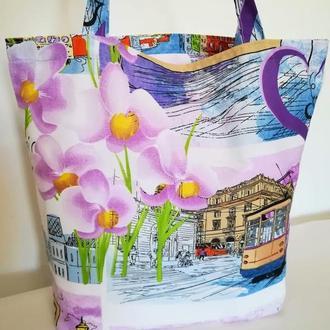 Оригинальная сумка Стильная расцветка!