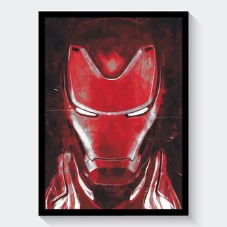 Постер Мстители: Финал / Avengers: Endgame (Железный Человек / Iron Man)