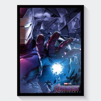 Постер Мстители: Финал / Avengers: Endgame (Iron Man / Железный Человек)