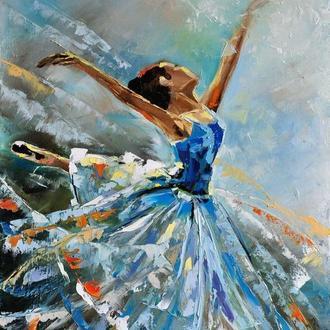 "картина маслом ""Балерина"""