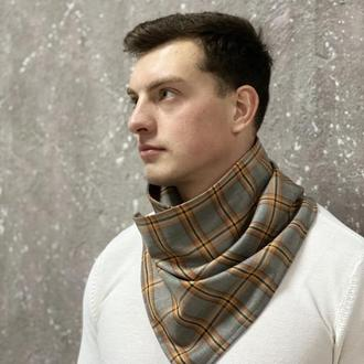 Горлогрів унисекс klasni шарф бактус