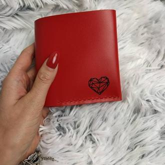 Хорунжий Кожаный кошелек, маленький кожаный кошелек, кожаный кошелек, Женский кошелек