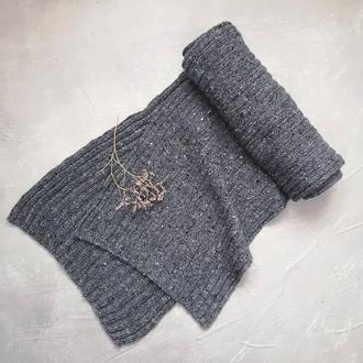 Твидовый шарф